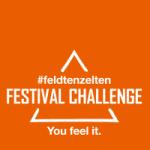 #feldtenzelten Festival Challenge Logo